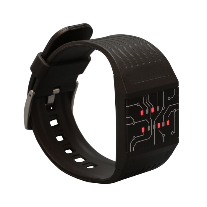 getDigital Binary Wrist Watch : For Professionals