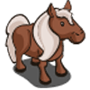Brown Pony Farmville