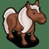 Brown Pony Farmville
