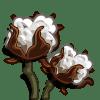 Cotton Categoria: Coste: 75 Tiempo crecimiento: 2 Dias 21 Horas Monedas que produce: 207 XP que produce: 2 Tamaño: 4x4