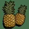 Pineapples Categoria: Fruits Coste: 95 Tiempo crecimiento: 1 Dia 22 Horas Monedas que produce: 242 XP que produce: 2 Tamaño: 4x4
