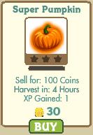 Super Pumpkin Farmville