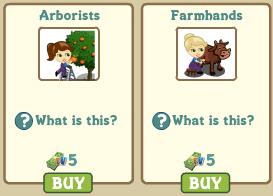 Arborists y Farmhands