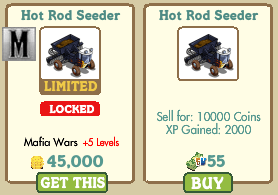 Hot Rod Seeder Farmville