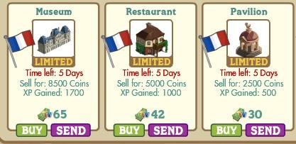 Novedades ene l Market de Farmville 2