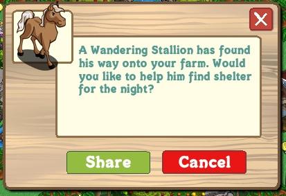 Wandering Stallion Farmville