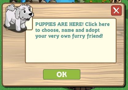 Farmville Puppies