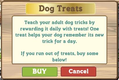 Trucos perros en Farmville