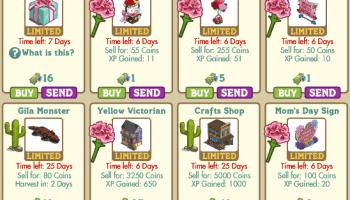 Novedades Market Farmville 1