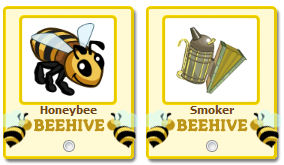 Honeybee y Smoker Farmville