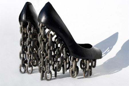 Los zapatos más extraños del mundo