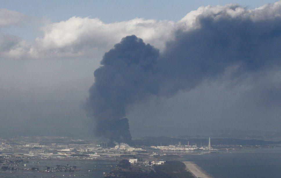 Explosion en la centra nuclear de Fukushima en Japon