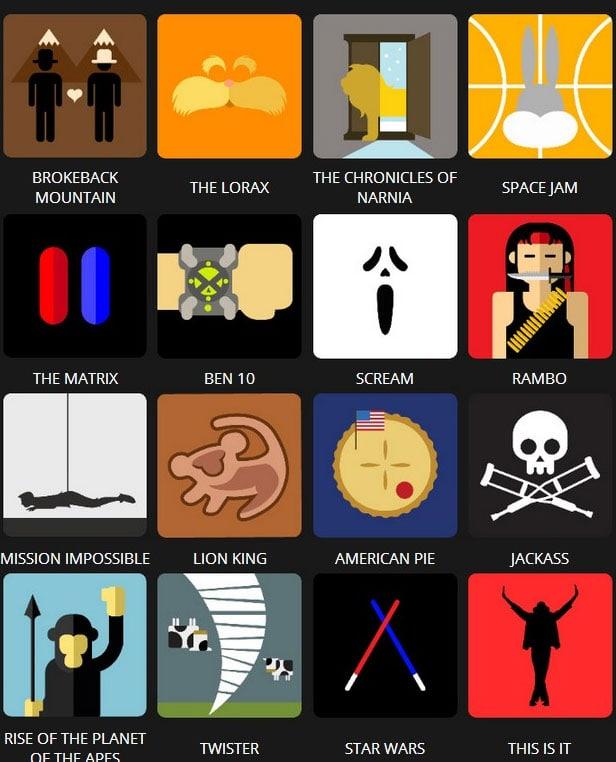 Icon Pop Quiz Answers Tv&Film Level 2