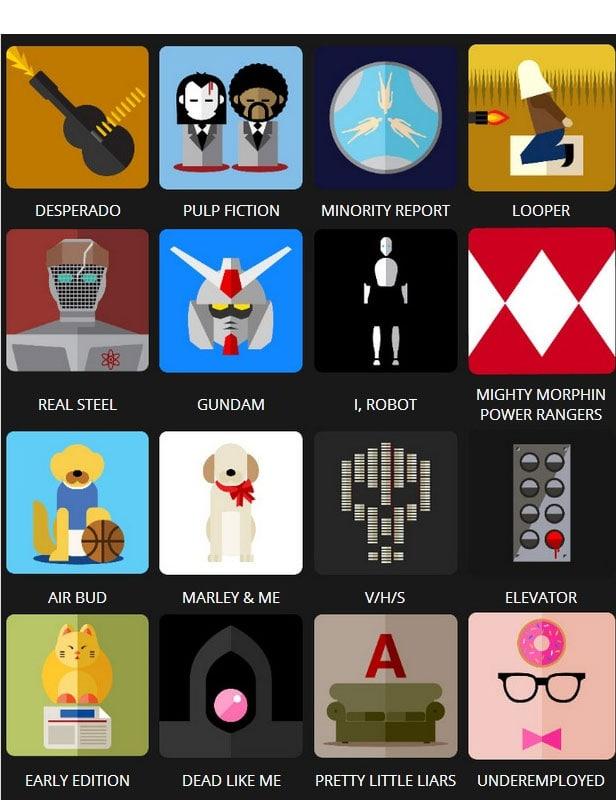 Icon Pop Quiz Answers Tv&Film Level 7