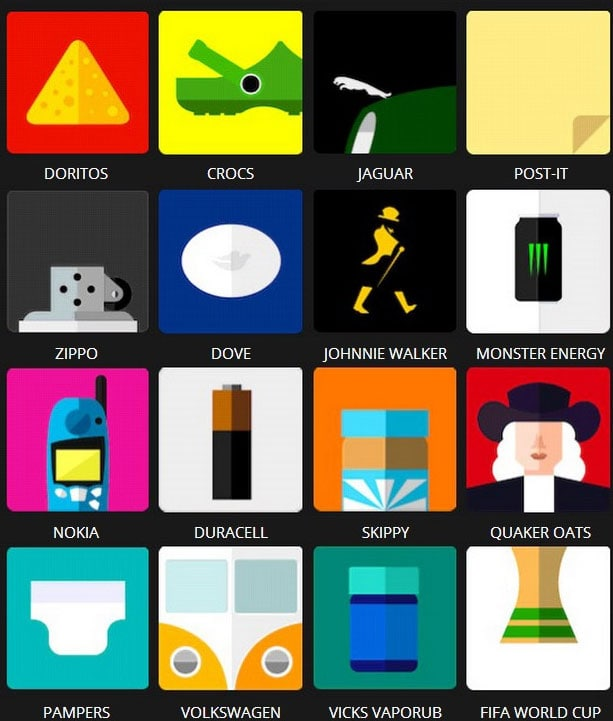 Icon Pop Brands Quiz Level 2