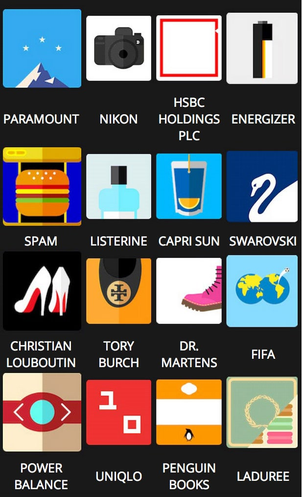 Icon Pop Brands Quiz Answers Level 5
