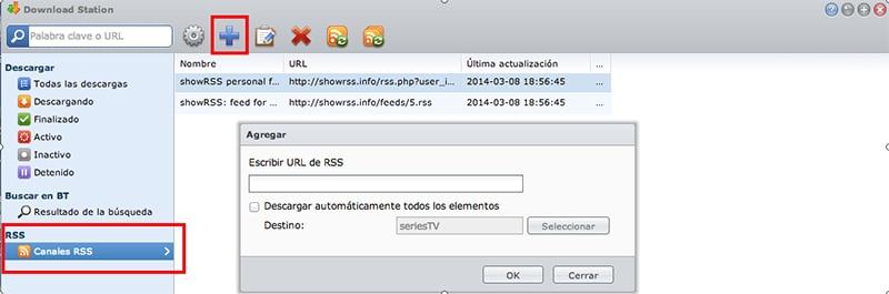 Synology: Cómo descargar de manera automática tus series en un PC - MAC o en servidor NAS Synology