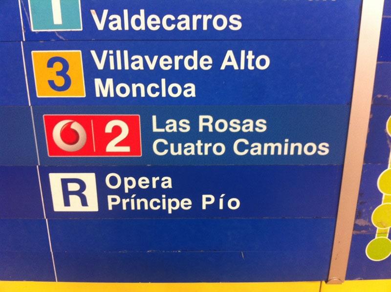 Cómo dejar de sufrir en el Metro de Madrid… ¿o es el metro de Vodafone?