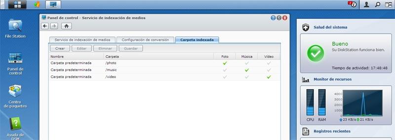 Solución al problema: Utilización 100% de CPU en un Servidor NAS Synology (indexación y creación de thumbnails de fotos)