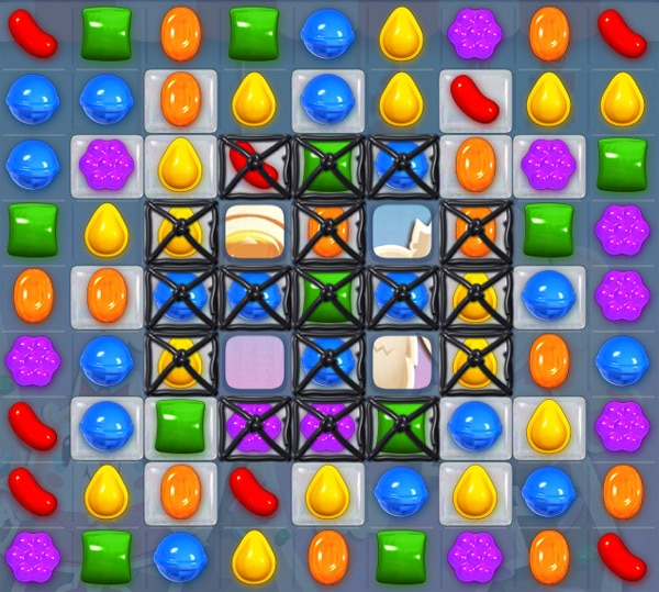 Cómo superar el nivel 50 de Candy Crush Saga