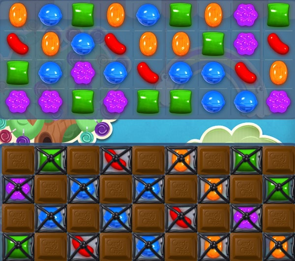 Candy Crush Saga nivel 56