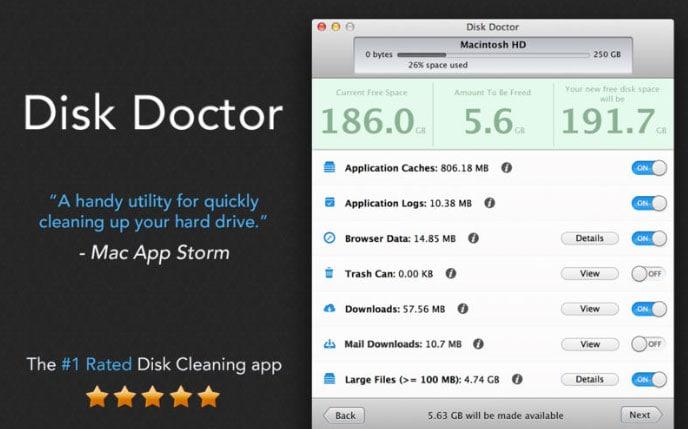 Disk Doctor para Mac