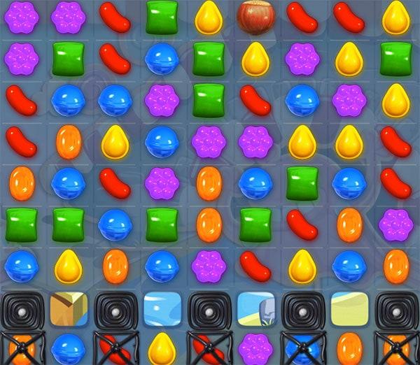 nivel 92 de Candy Crush Saga