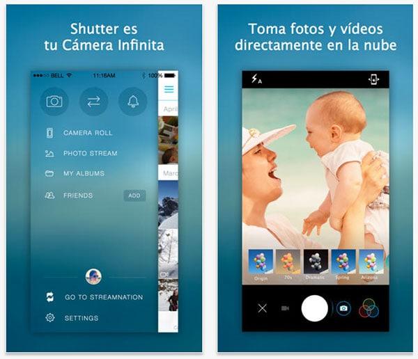 shutter app iphone