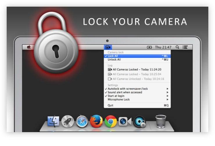 Protege la privacidad de tu Mac bloqueando la cámara