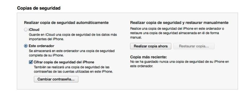 Cómo conservar las contraseñas de las aplicaciones en una copia de seguridad de tu iPhone