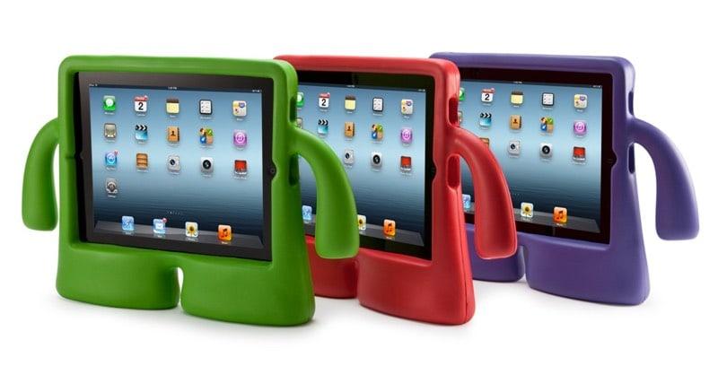 Speck iGuy Chili Pepper y Speck iGuy iPad mini: fundas para que un niño use el iPad sin romperlo