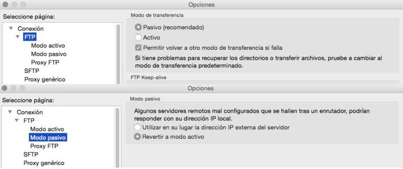 Como arreglar errores de transferencia FTP en WordPress