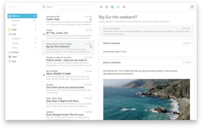 MailBox (gratis)