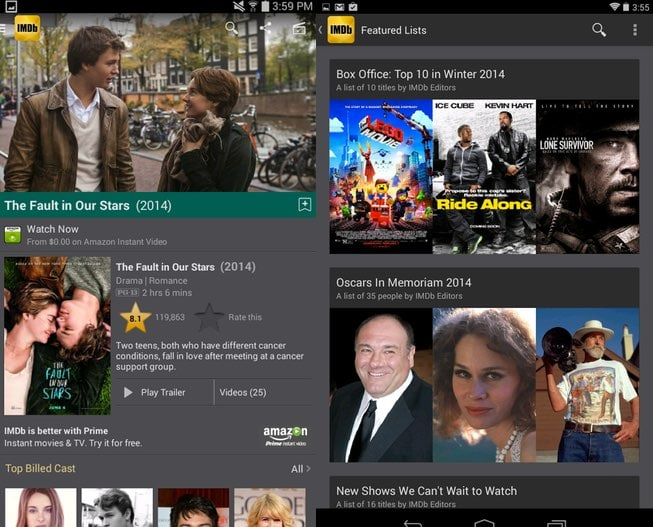 imdb app android