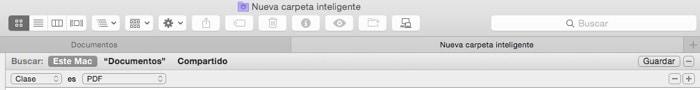 Cómo crear y usar las carpetas inteligentes en OS X para mantener organizado tu Mac