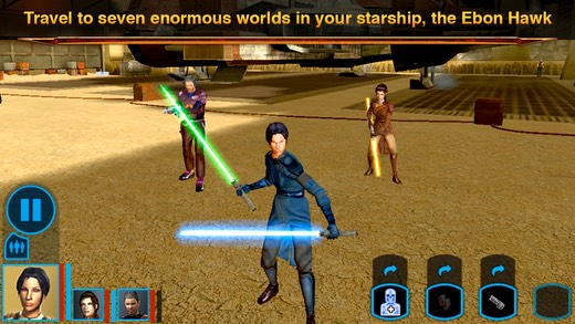 Star Wars: Knights of the Old Republic (2003 - Xbox, PC, iOS, Android)