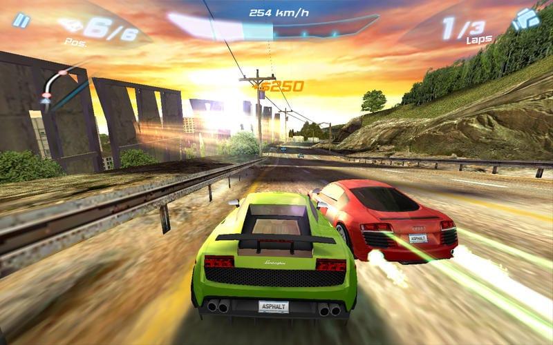 Los 3 mejores juegos de deportes que vas a encontrar en la Mac App Store: asphalt 6