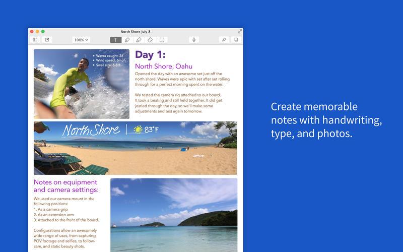 Notability aplicación Mac