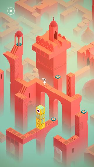 Los 10 mejores juegos de puzzles para el iPhone: Monument Valley