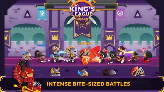 Los 10 mejores juegos de rol para el iPhone (2015): kings of league