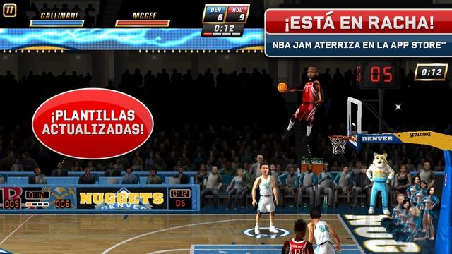 Los 10 mejores juegos de deportes para el iPhone (2015) NBA Jam