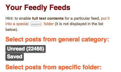feedly ebook news