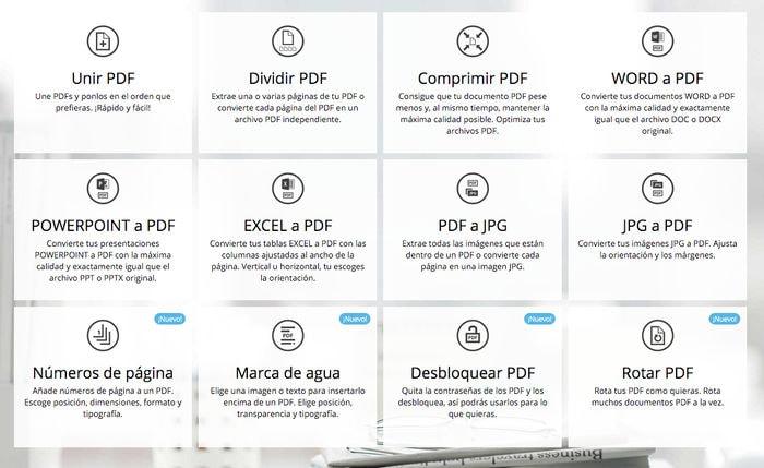 Si quieres a tus archivos PDF… no dejes de usar esta herramienta online: I Love PDF