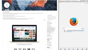 Cómo usar Split View en un Mac con OS X el Capitan