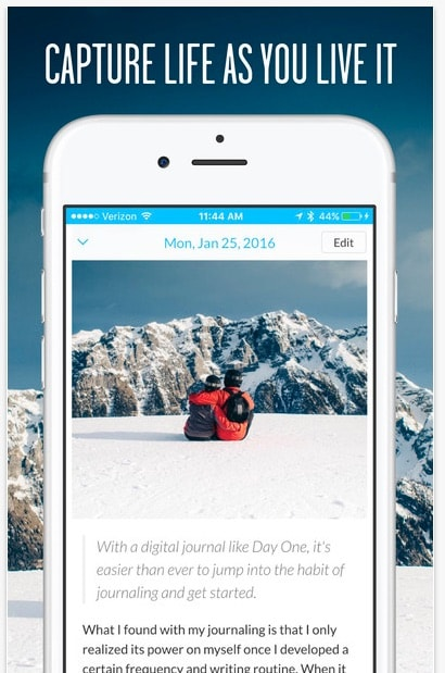 Day One Diario app iOS