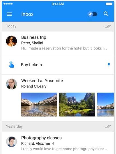 Inbox Gmail App Store