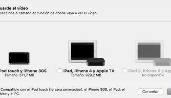 Cómo convertir vídeos en Mac sin utilizar ningún software adicional