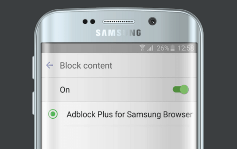 Cómo activar el bloqueo de anuncios en los Samsung Galaxy S7, S8 o S9 o en Android