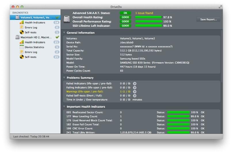 DriveDx mac