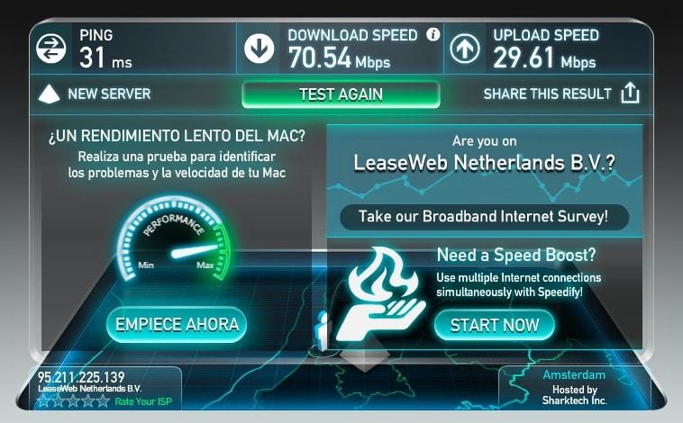 Servidores VPN nordVPN